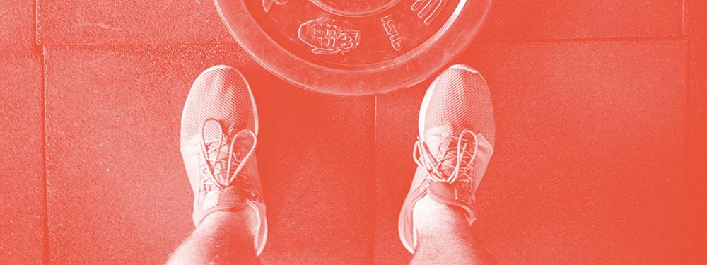 Ponteiro não baixou: balança x musculação